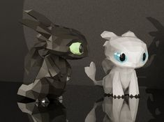 Light Fury Papercraft Light Fury Toothless and Light Fury Dragon Crafts, Dragon Art, Pikachu Crochet, Paper Crafts Origami, Oragami, Dragon Trainer, Dragons, Paper Models, How Train Your Dragon