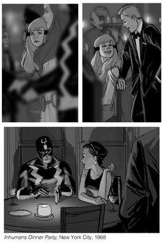 Phil Noto's Marvel-ous Mad Men-like Art   The Escapist