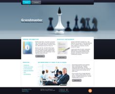 Grandmaster - Like this design? Have it customized with your logo and content! - JoomlaNinja.in