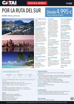 VUELTA al MUNDO por la Ruta del Sur, sal martes y domingos, 19 días desde 4.995€ - http://zocotours.com/vuelta-al-mundo-por-la-ruta-del-sur-sal-martes-y-domingos-19-dias-desde-4-995e/