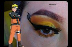 Anime Eye Makeup, Anime Cosplay Makeup, Edgy Makeup, Eye Makeup Art, Eyeshadow Makeup, Makeup Tips, Cute Makeup Looks, Makeup Eye Looks, Creative Eye Makeup