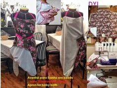 2 Fashion Style - Apron for baby bath
