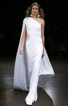 Los vestidos de novia más bonitos de la New York Bridal Week - Naeem Khan