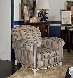 Ralph Lauren Marseilles Club Chair Stripe