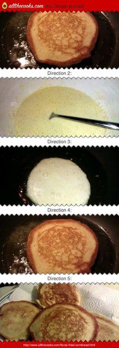 "Flora's Fried Cornbread! 4.62 stars, 13 reviews. ""Crispy and delish"" @allthecooks #recipe"