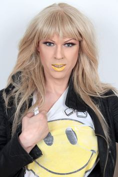 Gretchen yellow Photo by Annika Lind #Gretchen #fashionista #dragqueen http://finest.se/Gretchenofsweden/