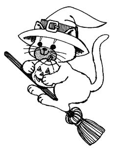 Cat Coloring Page Cats Pages - kootation.com