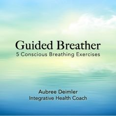 Stop. Take a deep breath. Feel better?  To help remind you to stop and connect with the power of your breath every day, I put together five guided breathing exercises and they are now available for download. Yay! Check it out >>> http://www.cdbaby.com/cd/aubreedeimler #guidedbreathing #consicousbreathing #endo #endometriosis #chronicpain #spoonies