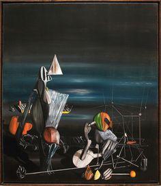 Artist Birthday January Yves Tanguy - Marc A Turner Art Art And Illustration, Yves Tanguy, Artist Birthday, Max Ernst, Surrealism Painting, Art Database, Fantastic Art, Love Painting, Magritte