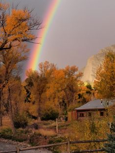 This little log cabin is the pot of gold at the end of the rainbow.  BREATH TAKING