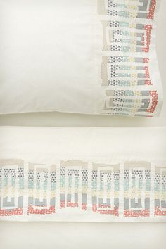 If only this Anthropologie sheet set wasn't 248 buckaroos... I would be ALL OVER IT. Gorgeous.