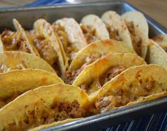 table for seven: Oven Tacos & Homemade Taco Seasoning
