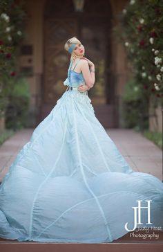 Alice Andrews Designs Parachute Dress Photo: Judy Host Photography Model: Jennie Carroll
