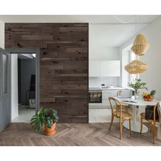 Genuine engineered hardwood wall planks with adhesive peel and stick backs. Available in many styles and colors, shop peel and stick wood wall planks today. Stick On Wood Wall, Peel And Stick Wood, Wood Wall Design, Wood Panel Walls, Engineered Hardwood, Home Improvement Projects, Dusk, Home Decor, Planks