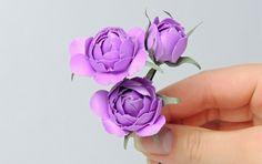 Цветы (розы) из ткани своими руками   Tavifa