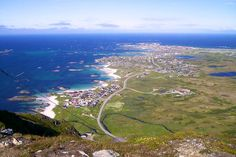 This is the village of Andenes which is on the island Andoya in Norway. Click Like if you think this is a great view.
