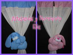 Cortinas y sujetador de cortina By Artesanías y decoración eli zabala