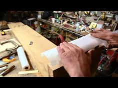 DiResta's Cut: Massive Dovetail-Joined Bench - YouTube