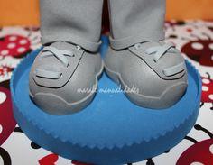 Zapatos deportivos www.maralemanualidades.wordpress.com