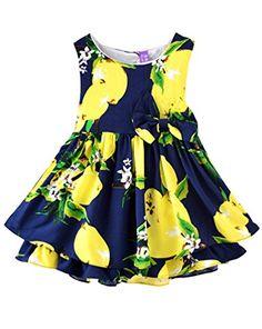 Rjxdlt Baby Girls Bowknot Lemon Print Skirt Dress 9-12 Mo... https://www.amazon.com/dp/B06XSYJBFF/ref=cm_sw_r_pi_dp_x_isTYzbEMCQXPC