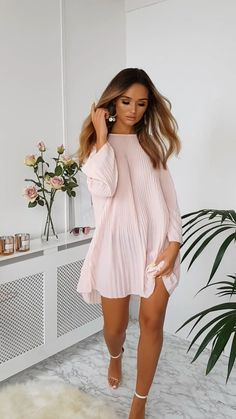 Cute Maternity Outfits, Cute Comfy Outfits, Edgy Outfits, Mode Outfits, Fashion Outfits, Playsuit Dress, Romper With Skirt, Elegant Summer Dresses, Casual Dresses