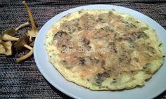 Tortilla de setas aromatizada con hierbas de Provenza