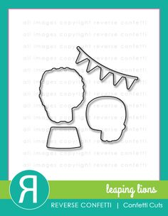 Leaping Lions that stamp set is just so cute! So, of course, we had to create a coordinating Confetti Cuts die set for it. This set includes dies for the 2 lion images as well as dies for the circus stand and banner images.