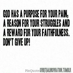 """""""What is God's remedy for dejection at apparent failure in our labors? This - THE ASSURANCE THAT GOD'S PURPOSE CANNOT FAIL, that God's plans cannot miscarry, that God's will must be done. Our labours are not intended to bring about that which God has not decreed."""" ~ A.W. Pink"""