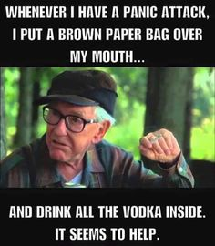 It helps lol Funny Qoutes, Funny Memes, Haha Funny, Funny As Hell, Hilarious, Twisted Humor, Humour, Grumpy Old Men, Alcohol Humor
