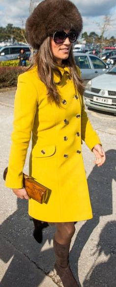 Street Style | Pippa Middleton... JUST THE COAT