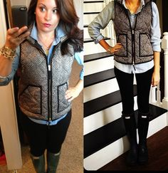 Great job Nina!  Gosh I want this vest!