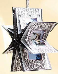 Star Shape Mini Album, perfect chistmas gift!