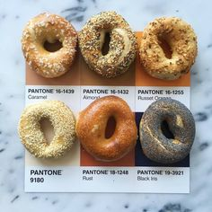 Gourmet and Colorful Pantone Food Series – Fubiz Media