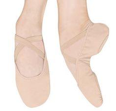 Bloch canvas split sole ballet shoe. Call for details (513) 533-9327
