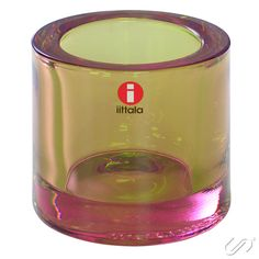 "New Iittala marimekko Kivi ""Rose Olive"" Candle Holder Votive *Changes with Light Candle Jars, Candle Holders, Candles, Eat Seasonal, Marimekko, Food Pictures, Finland, Arts And Crafts, Rose"