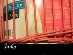 Moje ruční práce - Fotoalbum - Návody na vzory pletení (pletení z papíru) - Návod na opletek čtyřmi (schování dna)