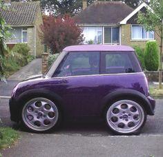Soooo Tinyyy Convertible Smart Car Auto Mini
