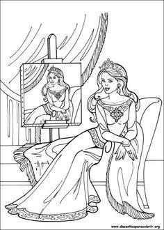 "iColor ""Princesses I"" ~ Princesa Leonora"