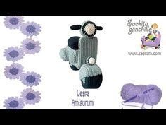 Ganchillo / Vespa Crochet * Parte 3: Faros, manguitos y matricula * Saekita Ganchillo - YouTube