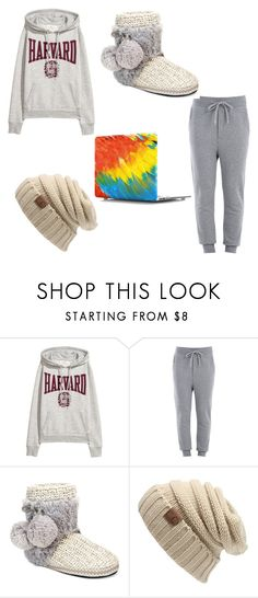 """""""snowy day❄️"""" by chey801 ❤ liked on Polyvore featuring Love Moschino and Muk Luks"""