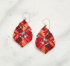 Hey, I found this really awesome Etsy listing at https://www.etsy.com/listing/244081079/macrame-earrings