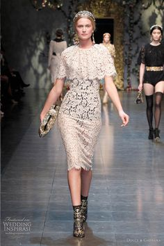 See, Dolce and Gabbana may not be your thing, but they are always /interesting/. (Fall/Winter 2012-2013)