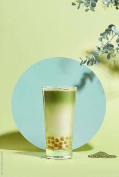 Stock photo of Milk bubble tea. Food Poster Design, Menu Design, Food Design, Bubble Tea, Coffee Photography, Food Photography, Gfx Design, Design Presentation, Belle Photo