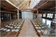 Stunning ceremony at Bridgeport Art Center Bridgeport Art Center, Event Planning, Wedding Planning, Chicago Wedding, Wedding Events, How To Plan, Creative, Design, Home