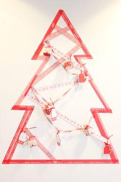 Create your own Washi Christmas Tree! #talkingtables #christmas #washicraft