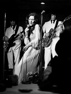 June 6, 1973, Loretta Lynn performs at the 2nd annual Country Music Fan Fair at the Sheraton downtown Nashville, TN