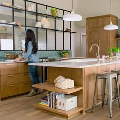 Style Tips with Joanna Gaines: Watch as Joanna breaks down the basics of styling open shelving for a beautiful, functional kitchen. Hearth & Hand™ with Magnolia, only at Target.