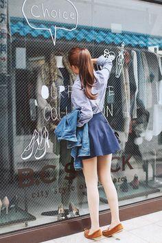 Korean style fashion♡