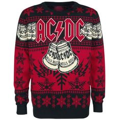 From Guns N' Roses to Ryan Adams, we takes a look at 12 of the best band Christmas jumpers from holidays past and present. Ugly Christmas Sweater Women, Christmas Jumpers, Ugly Sweater, Sweater Shirt, Christmas Sweaters, Christmas Holiday, Iron Maiden, Heavy Metal Christmas, Holiday Tops