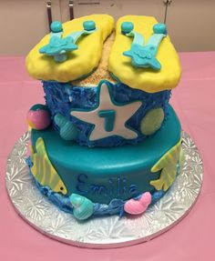 By the sea cake